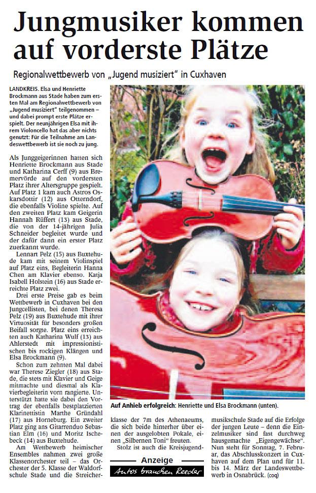 Presseartikel_StaderTageblatt28_1_2010