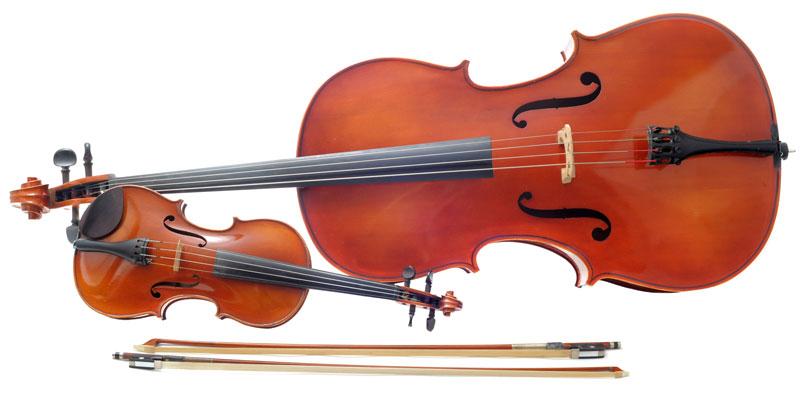 Bratsche Geige Unterschied