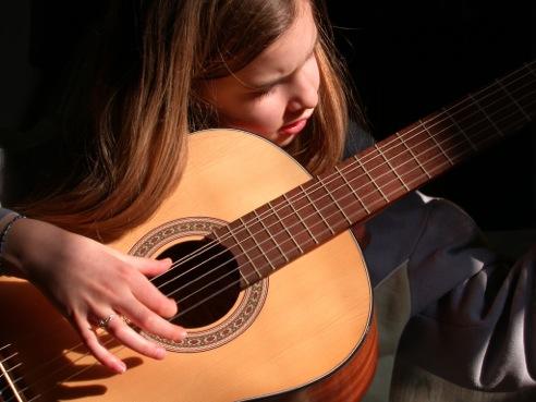 Gitarristin
