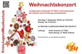 Bild Weihnachtskonzert Akkordeon Orchester Internet