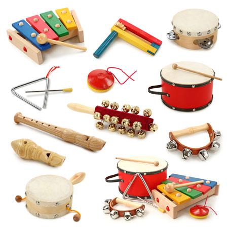 Rhythmik Instrumente